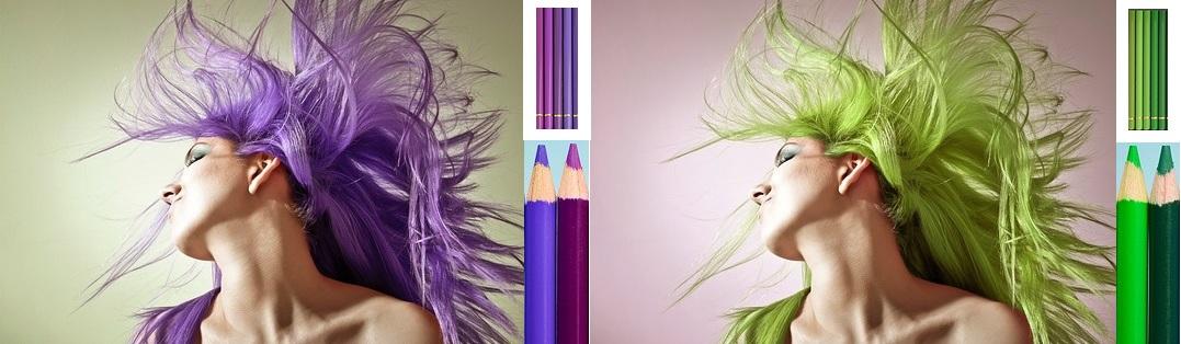 Quels crayons de couleurs pour représenter la teinte des cheveux ?